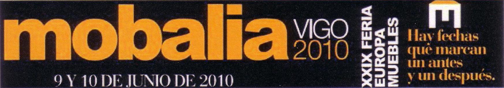 Cartel promocional Mobalia Vigo 2010