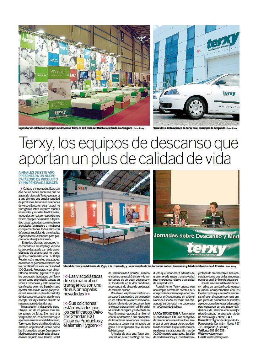 Imagen Periódico de la Noticia de El Correo Gallego Terxy