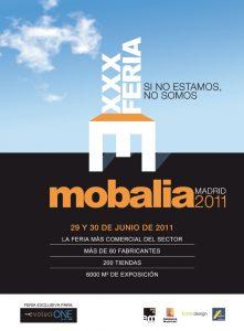 Cartel promocional Mobalia 2011
