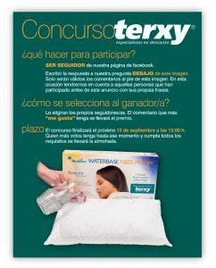 Cartel Concurso Almohada Mediflow Terxy