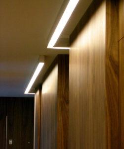 Iluminación armario