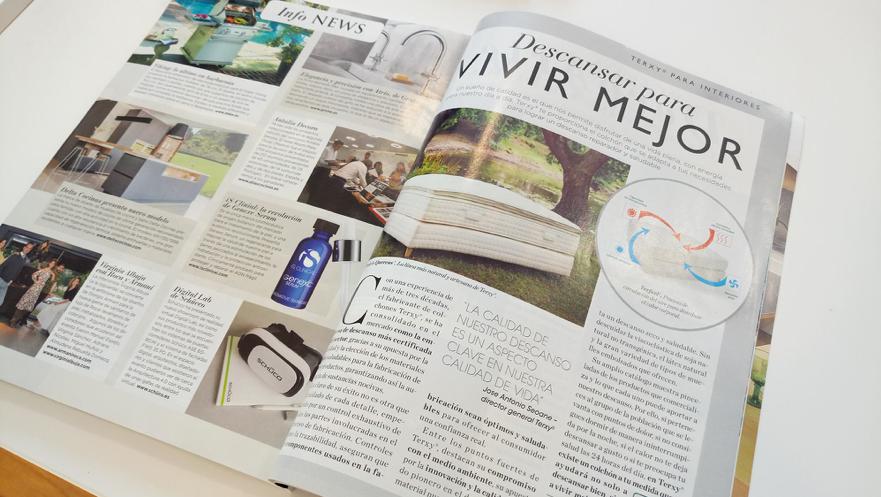 Terxy® En La Revista Interiores.