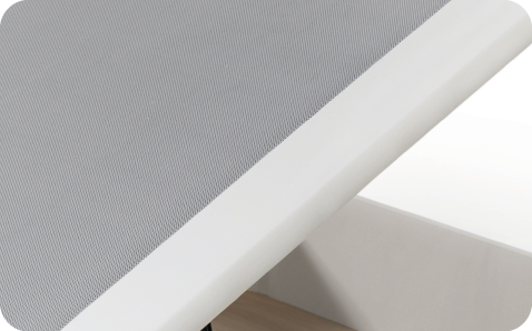 Imagen detalle canape - UPHOLSTERED RIGID SURFACE